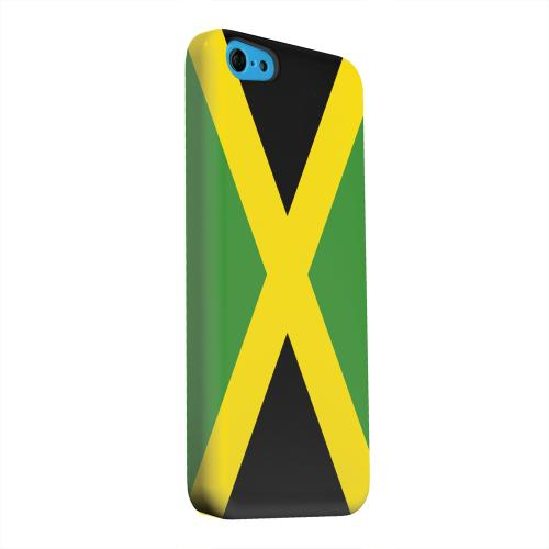 Geeks Designer Line (GDL) Apple iPhone 5C Matte Hard Back Cover - Jamaica