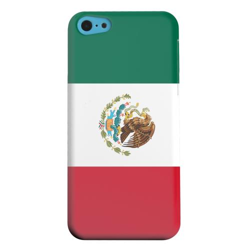 Geeks Designer Line (GDL) Apple iPhone 5C Matte Hard Back Cover - Mexico