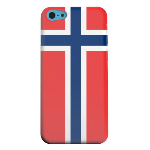 Geeks Designer Line (GDL) Apple iPhone 5C Matte Hard Back Cover - Norway
