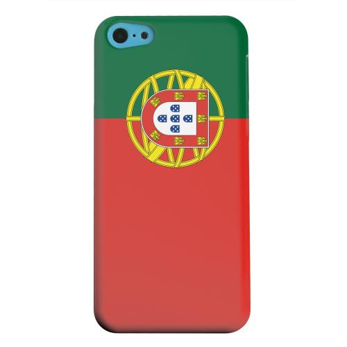 Geeks Designer Line (GDL) Apple iPhone 5C Matte Hard Back Cover - Portugal