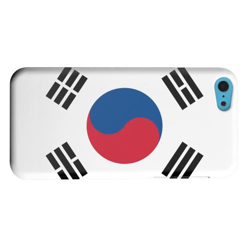 Geeks Designer Line (GDL) Apple iPhone 5C Matte Hard Back Cover - South Korea