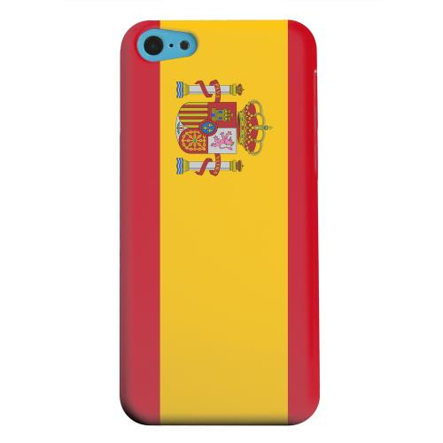 Geeks Designer Line (GDL) Apple iPhone 5C Matte Hard Back Cover - Spain