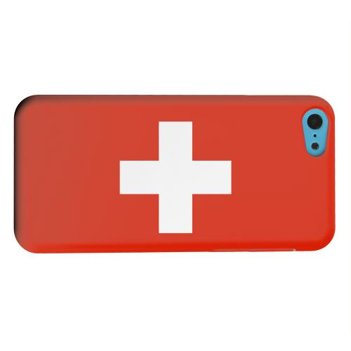 Geeks Designer Line (GDL) Apple iPhone 5C Matte Hard Back Cover - Switzerland