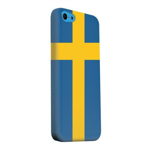 Geeks Designer Line (GDL) Apple iPhone 5C Matte Hard Back Cover - Sweden
