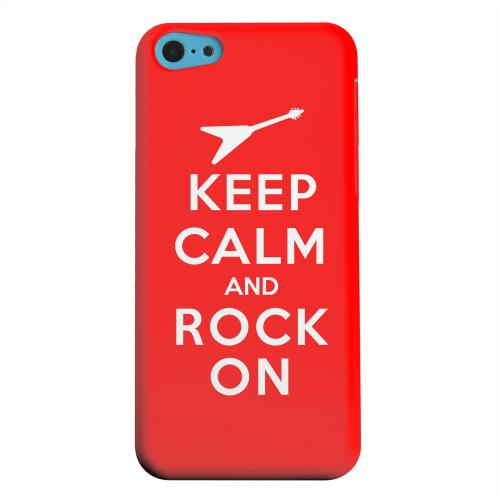 Geeks Designer Line (GDL) Apple iPhone 5C Matte Hard Back Cover - Red Rock On