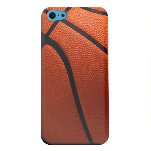 Geeks Designer Line (GDL) Apple iPhone 5C Matte Hard Back Cover - Basketball