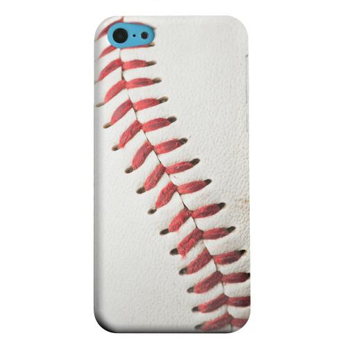 Geeks Designer Line (GDL) Apple iPhone 5C Matte Hard Back Cover - Baseball