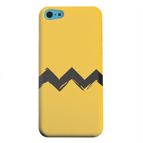 Geeks Designer Line (GDL) Apple iPhone 5C Matte Hard Back Cover - Yellow Good Grief!