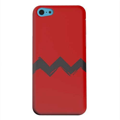 Geeks Designer Line (GDL) Apple iPhone 5C Matte Hard Back Cover - Red Good Grief!