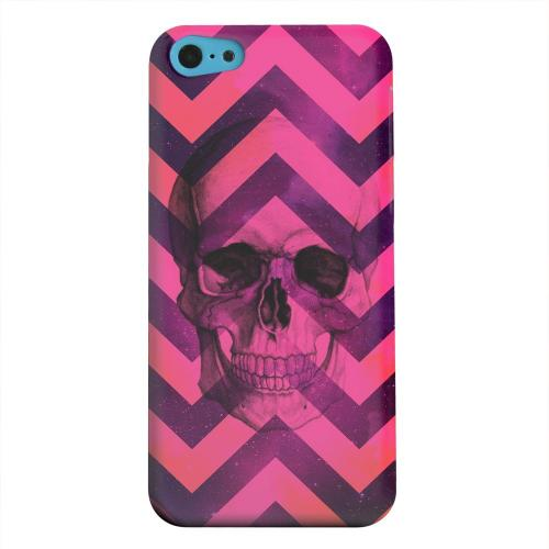 Geeks Designer Line (GDL) Apple iPhone 5C Matte Hard Back Cover - Pink Space Death