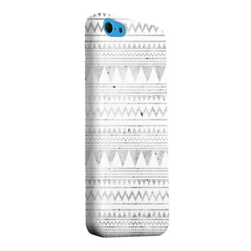 Geeks Designer Line (GDL) Apple iPhone 5C Matte Hard Back Cover - Grungy Triangles