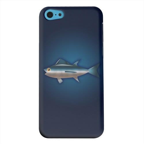 Geeks Designer Line (GDL) Apple iPhone 5C Matte Hard Back Cover - Bluefin Tuna