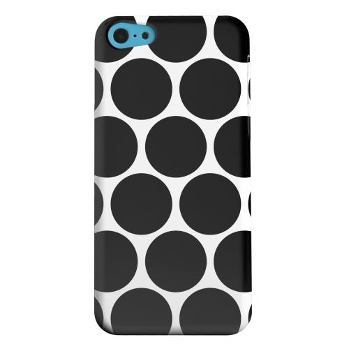 Geeks Designer Line (GDL) Apple iPhone 5C Matte Hard Back Cover - Big & Black