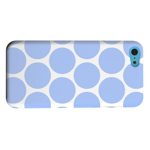 Geeks Designer Line (GDL) Apple iPhone 5C Matte Hard Back Cover - Big & Sky Blue