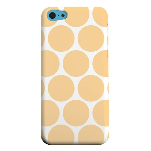 Geeks Designer Line (GDL) Apple iPhone 5C Matte Hard Back Cover - Big & Orange