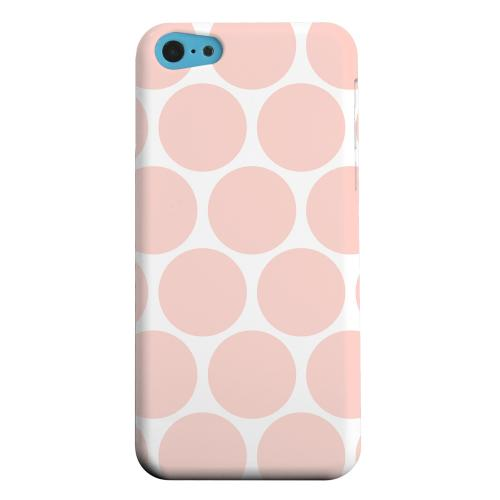 Geeks Designer Line (GDL) Apple iPhone 5C Matte Hard Back Cover - Big & Baby Pink