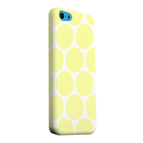 Geeks Designer Line (GDL) Apple iPhone 5C Matte Hard Back Cover - Big & Yellow