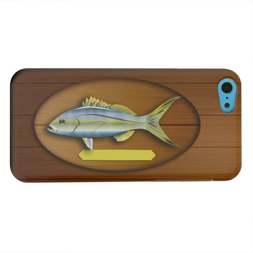 Geeks Designer Line (GDL) Apple iPhone 5C Matte Hard Back Cover - Fish Trophy
