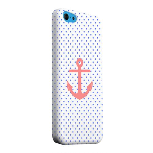 Geeks Designer Line (GDL) Apple iPhone 5C Matte Hard Back Cover - Anchor