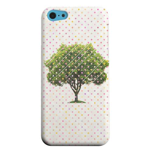 Geeks Designer Line (GDL) Apple iPhone 5C Matte Hard Back Cover - Tree