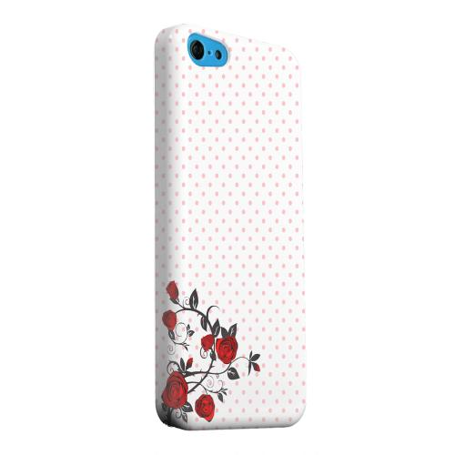 Geeks Designer Line (GDL) Apple iPhone 5C Matte Hard Back Cover - Rose Vine