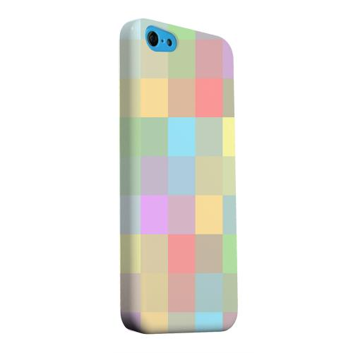 Geeks Designer Line (GDL) Apple iPhone 5C Matte Hard Back Cover - Pixelated