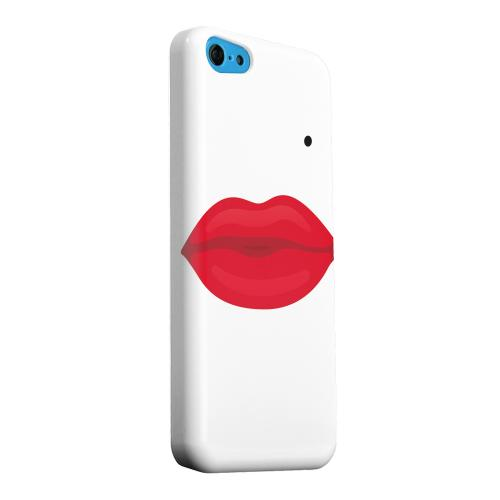 Geeks Designer Line (GDL) Apple iPhone 5C Matte Hard Back Cover - Glamour Lips