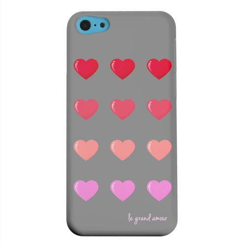 Geeks Designer Line (GDL) Apple iPhone 5C Matte Hard Back Cover - Le Grand Amour