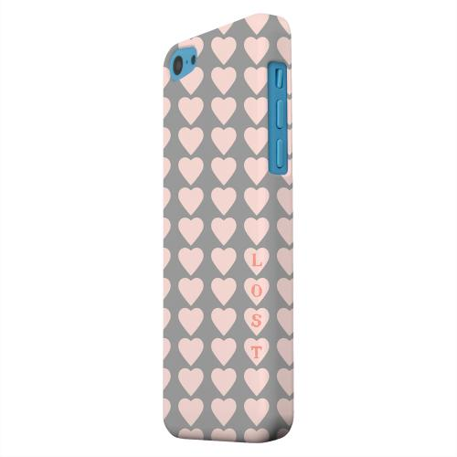 Geeks Designer Line (GDL) Apple iPhone 5C Matte Hard Back Cover - Lost in Love