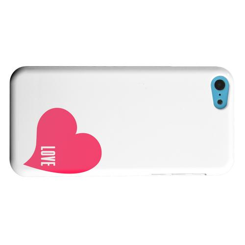 Geeks Designer Line (GDL) Apple iPhone 5C Matte Hard Back Cover - Love Heart