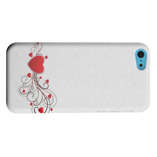 Geeks Designer Line (GDL) Apple iPhone 5C Matte Hard Back Cover - Love Bloom
