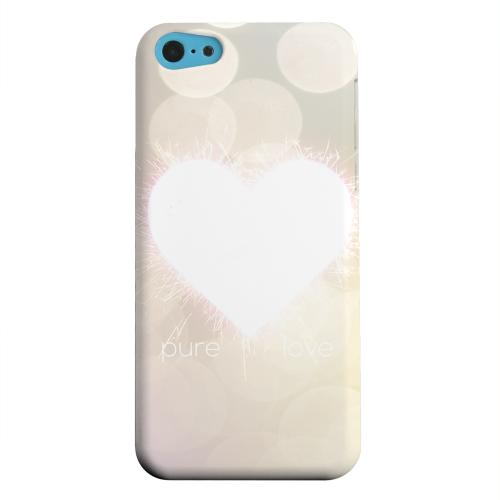 Geeks Designer Line (GDL) Apple iPhone 5C Matte Hard Back Cover - Pure Love