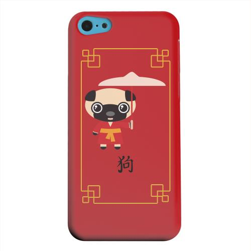 Geeks Designer Line (GDL) Apple iPhone 5C Matte Hard Back Cover - Chibi Dog