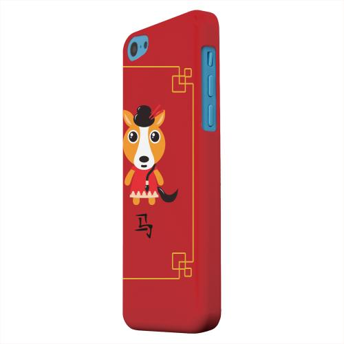 Geeks Designer Line (GDL) Apple iPhone 5C Matte Hard Back Cover - Chibi Horse