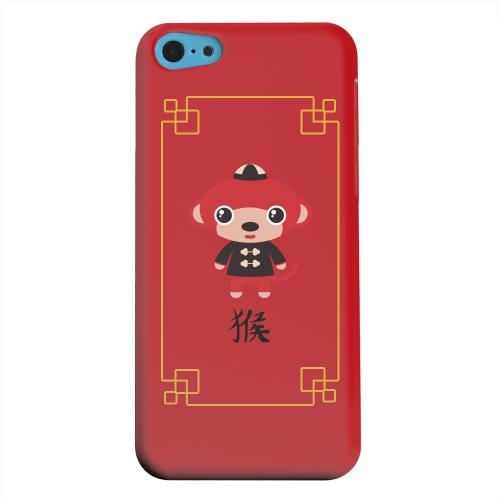 Geeks Designer Line (GDL) Apple iPhone 5C Matte Hard Back Cover - Chibi Monkey