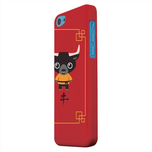 Geeks Designer Line (GDL) Apple iPhone 5C Matte Hard Back Cover - Chibi Ox