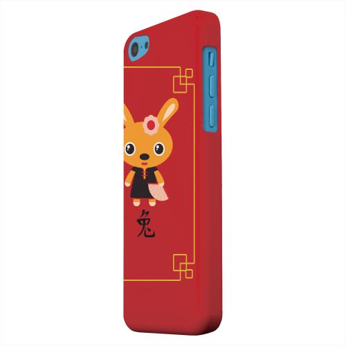 Geeks Designer Line (GDL) Apple iPhone 5C Matte Hard Back Cover - Chibi Rabbit