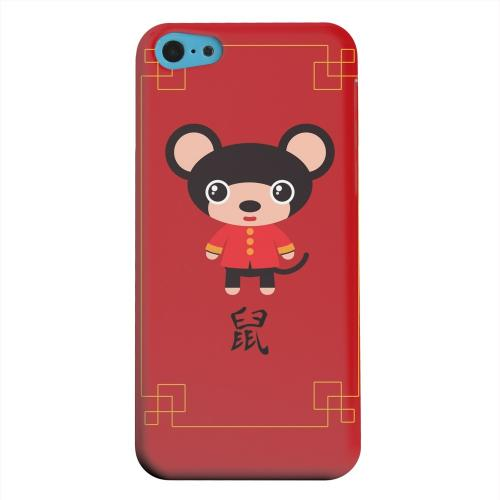 Geeks Designer Line (GDL) Apple iPhone 5C Matte Hard Back Cover - Chibi Rat