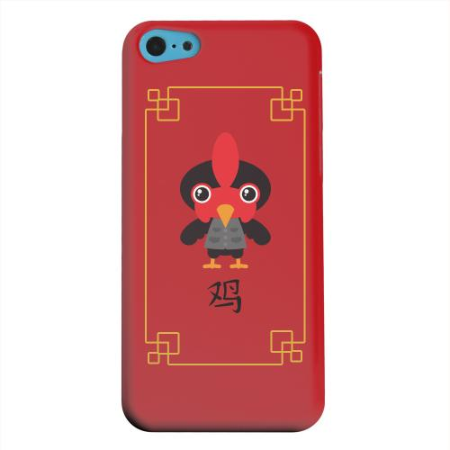 Geeks Designer Line (GDL) Apple iPhone 5C Matte Hard Back Cover - Chibi Rooster