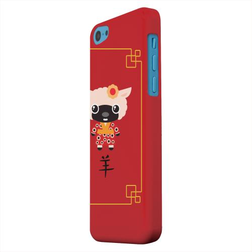 Geeks Designer Line (GDL) Apple iPhone 5C Matte Hard Back Cover - Chibi Sheep