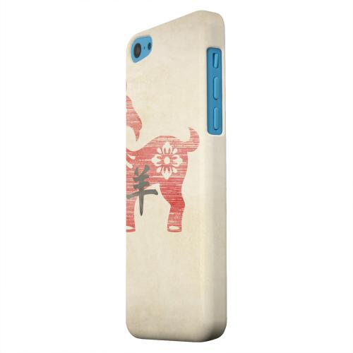 Geeks Designer Line (GDL) Apple iPhone 5C Matte Hard Back Cover - Grunge Sheep