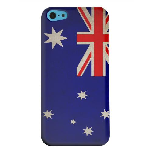 Geeks Designer Line (GDL) Apple iPhone 5C Matte Hard Back Cover - Grunge Australia