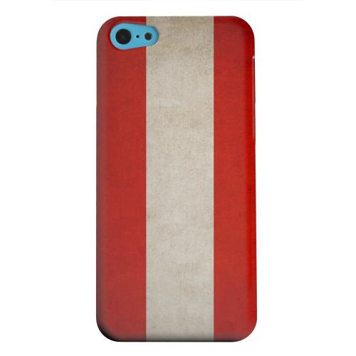 Geeks Designer Line (GDL) Apple iPhone 5C Matte Hard Back Cover - Grunge Austria