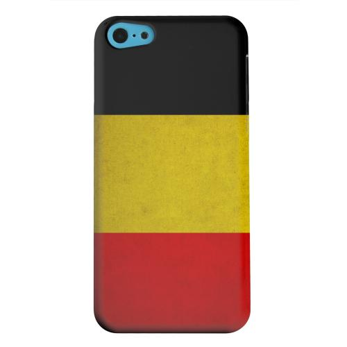 Geeks Designer Line (GDL) Apple iPhone 5C Matte Hard Back Cover - Grunge Belgium