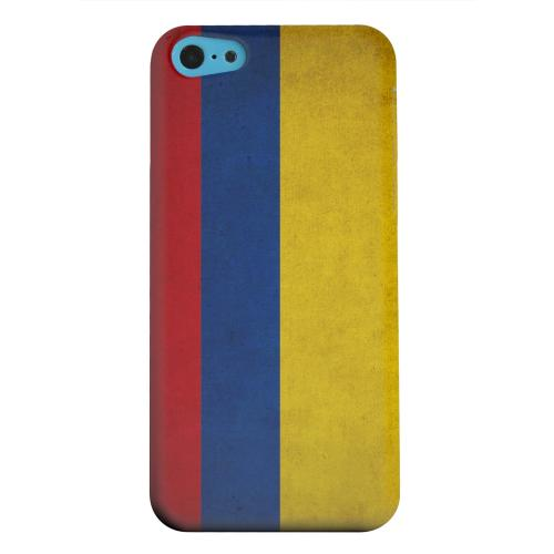 Geeks Designer Line (GDL) Apple iPhone 5C Matte Hard Back Cover - Grunge Columbia