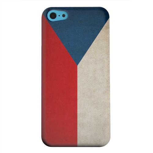 Geeks Designer Line (GDL) Apple iPhone 5C Matte Hard Back Cover - Grunge Czech Republic