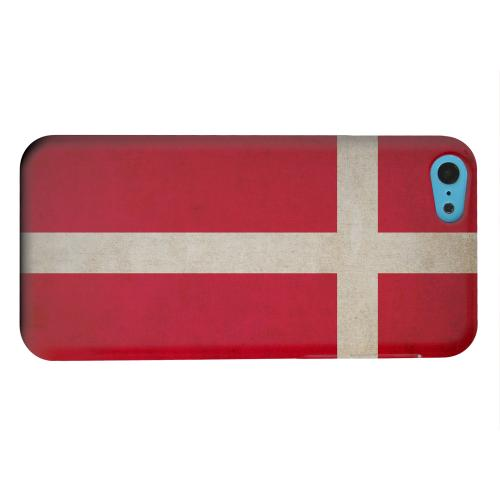 Geeks Designer Line (GDL) Apple iPhone 5C Matte Hard Back Cover - Grunge Denmark