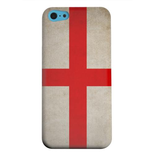 Geeks Designer Line (GDL) Apple iPhone 5C Matte Hard Back Cover - Grunge England