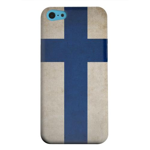 Geeks Designer Line (GDL) Apple iPhone 5C Matte Hard Back Cover - Grunge Finland