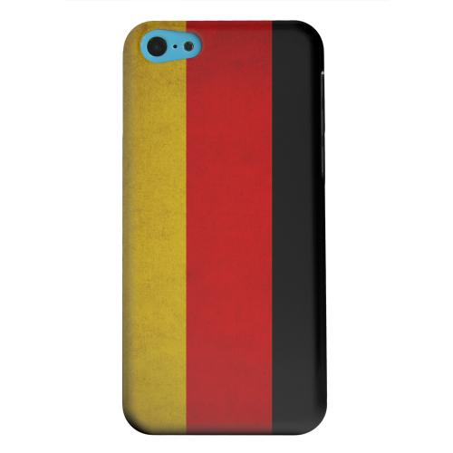 Geeks Designer Line (GDL) Apple iPhone 5C Matte Hard Back Cover - Grunge Germany